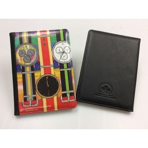 Custom Genuine Leather Junior Executive Padfolio (4 Color/ 1 Side)